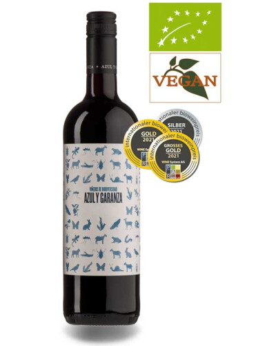 Abril de Azul y Garanza Tinto  DO Navarra 2017 Organic Red Wine